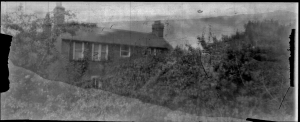 Pinhole image rooftop