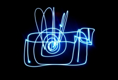 Amy Cottrill - drawing with light