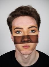 Anna ben with faces 40x30