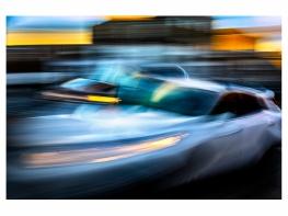 Joe blurred car5477 40x30